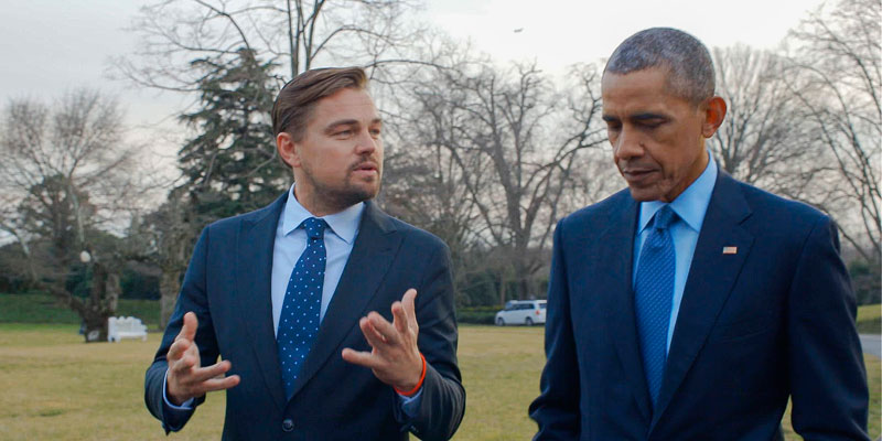"Leonardo DiCaprio estrenó documental ecologista ""Antes que sea tarde"""