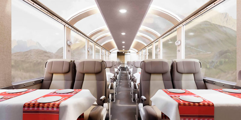 "Inca Rail lanzará su nuevo servicio ""The 360° Machu Picchu Train"""